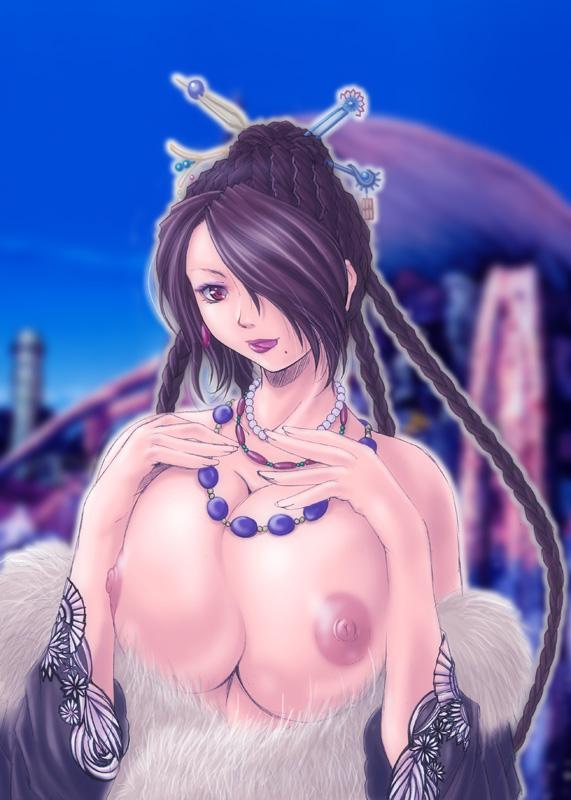 final x fantasy yunalesca lady Doki doki literature club 3d model