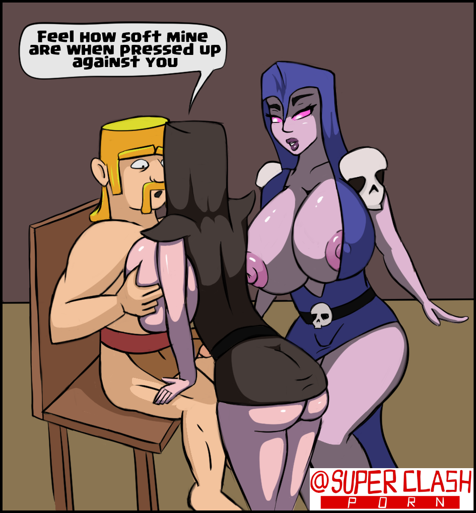 clans clash of sex naked How to get hung like a horse