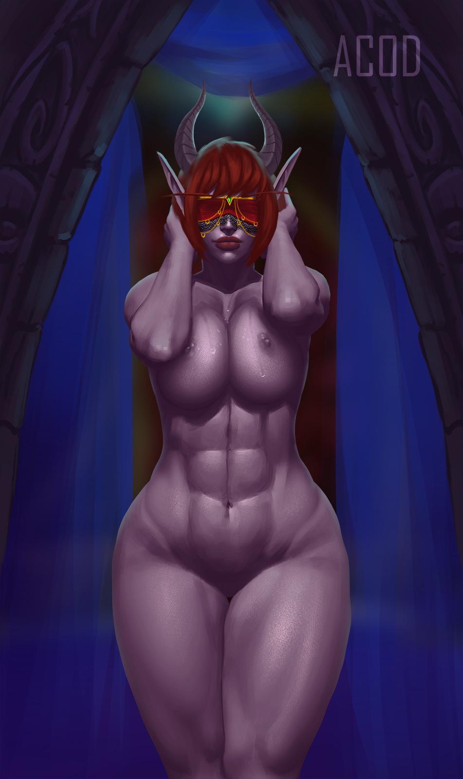 demon blood hunter female elf Oppai igai ga dame sugiru ane
