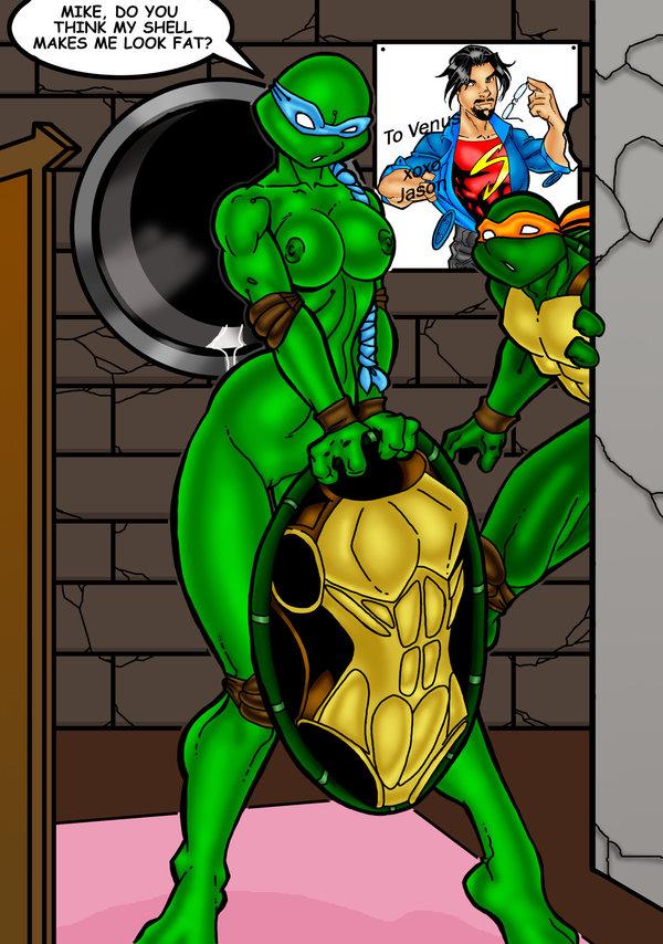 de turtles ninja milo venus Monster hunter handler