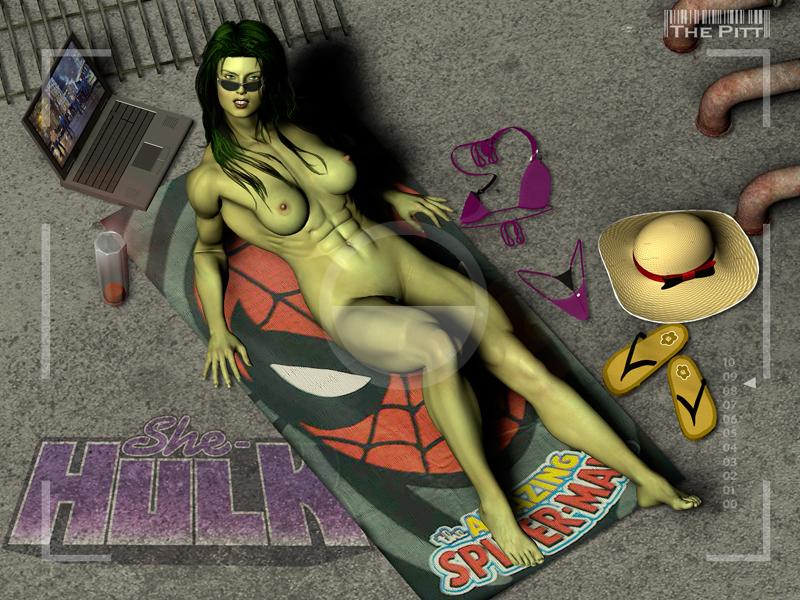 hulk porn and she hulk El superbeasto velvet von black