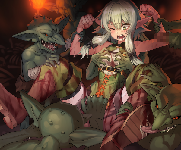 goblin scene rape manga slayer Moblin zelda breath of the wild