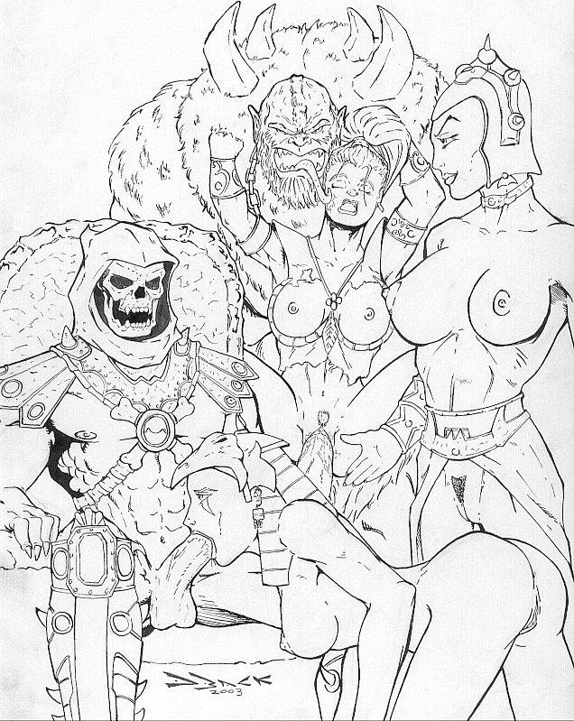 & master porn ragnarok the of blesser of einherjar Scooby doo on zombie island lena