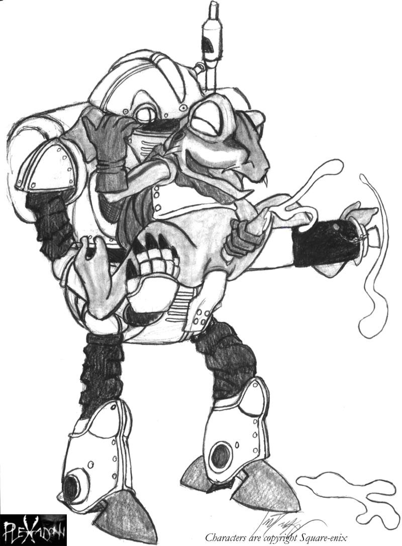 kenzen-robo-daimidaler One punch man slingshot s