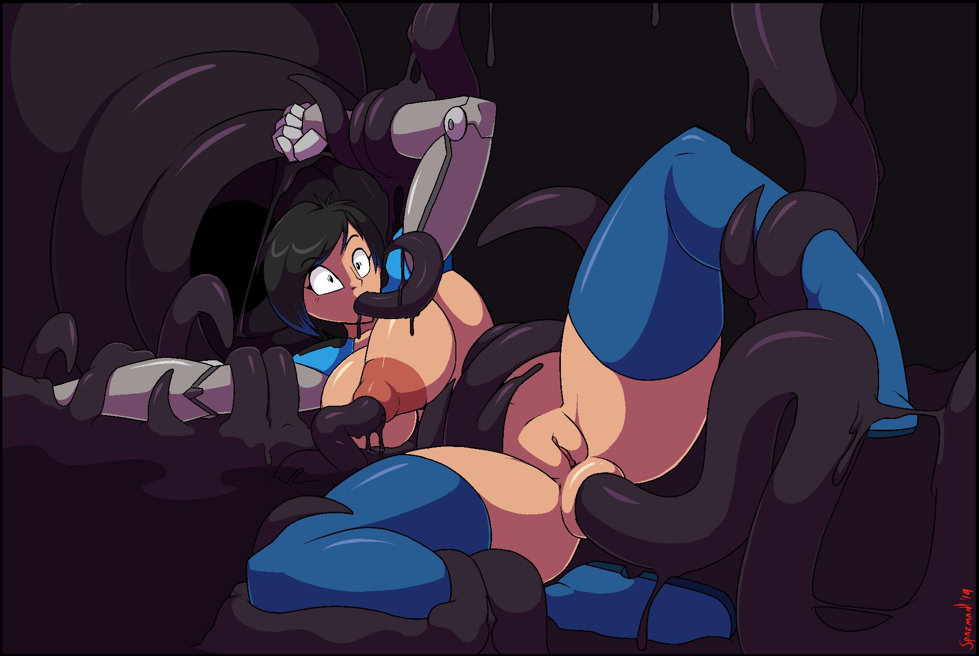 all hentai tentacle through the way Steven universe white diamond comics