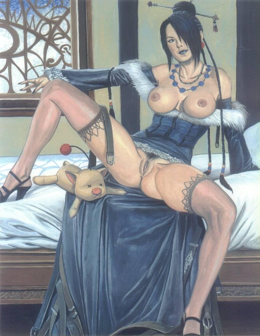 lady final fantasy yunalesca x Dark souls 2 desert sorceress hentai