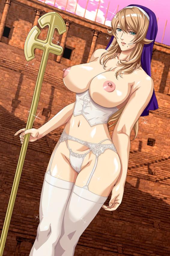 rebellion queens blade Atarashii haha wa russia-jin!? oyaji ni naisho de niizuma netori!