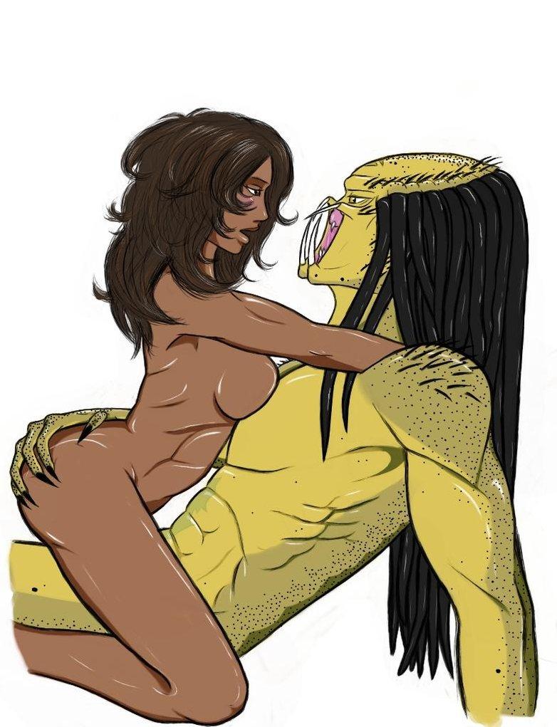 predator vs 6 specimen alien Mass effect andromeda vetra naked