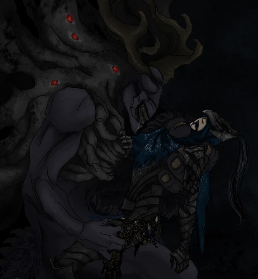 2 dark glass souls knight Legend of zelda great fairy hentai