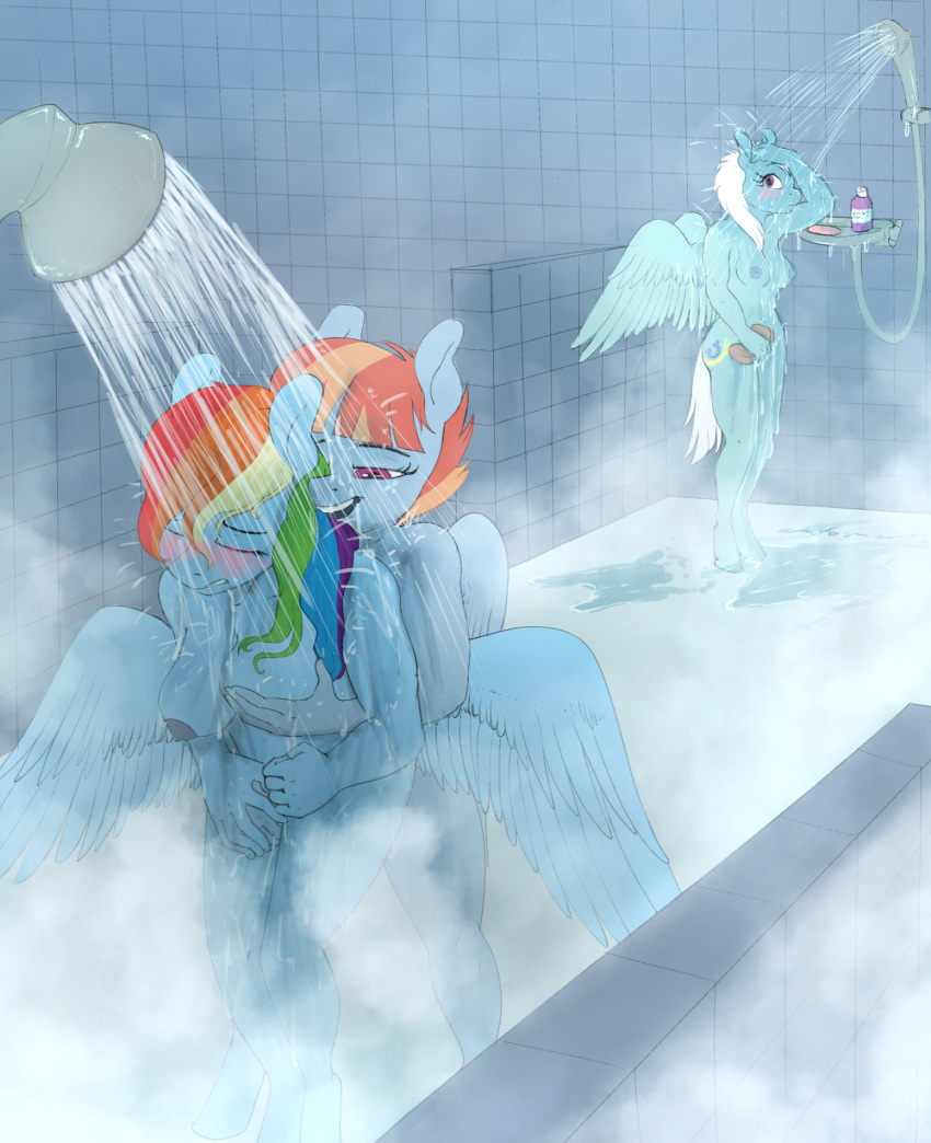 shimmer dash rainbow and sunset Amazing world of gumball vore