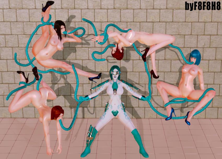 the all tentacle hentai through way Kyonyuu jk ga ojisan chinpo to jupo jupo iyarashii sex shitemasu