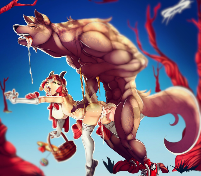 riding red hood costume sheva Five nights at freddy's hentia