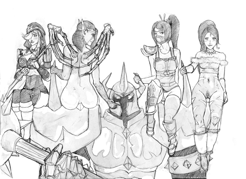 elegends of league Kanokon (kanokon: the girl who cried fox)