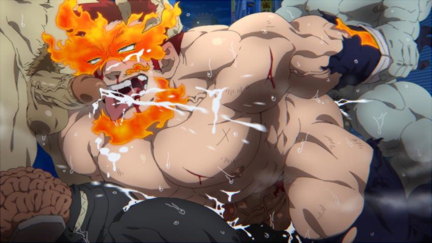hagakure hero academia my hentai Honoo no haramase paidol my star gakuen z the animation