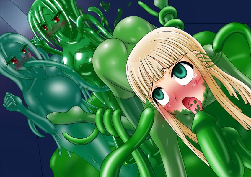 ass knots girls in dog Monster musume no oisha san