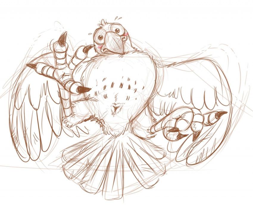 jaiden the animations ari bird Triplets beauty and the beast