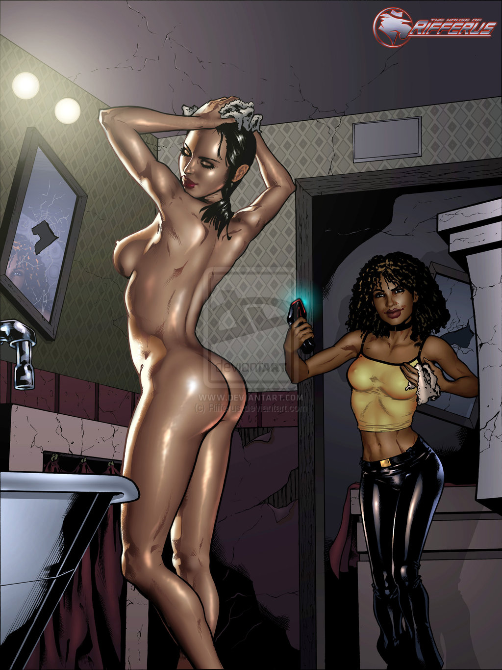 female naked male, clothed The complex adventures of eddie puss