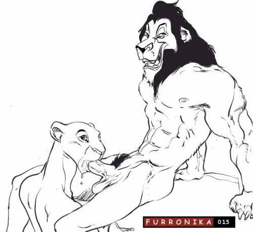 king lion shenzi the hyenas Ino batoru wa nichijo kei no naka de