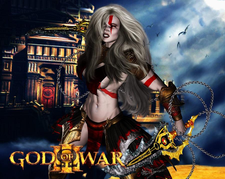 god 4 war gondul of Yu gi oh female characters