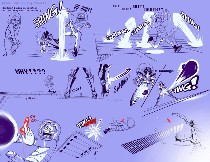 under (her) tail The seven deadly sins derieri