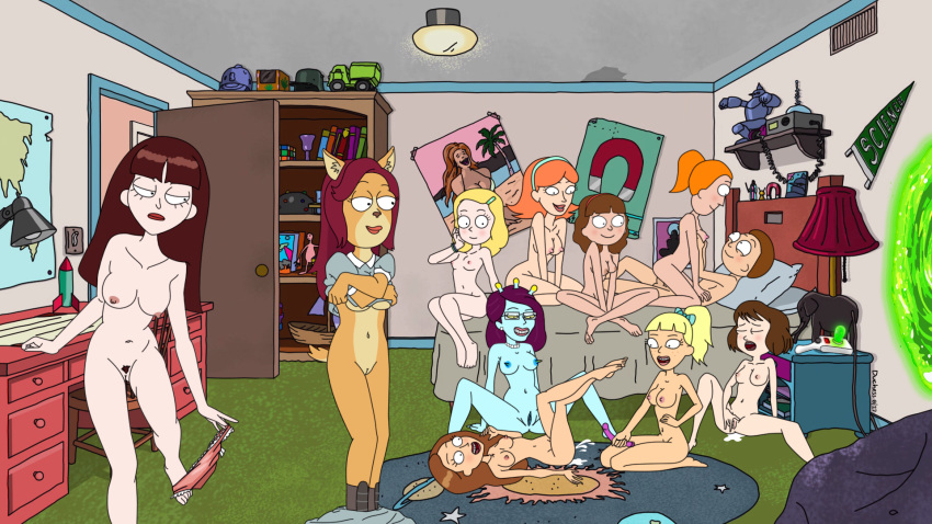 morty and jessica nude rick Fate stay night jack the ripper