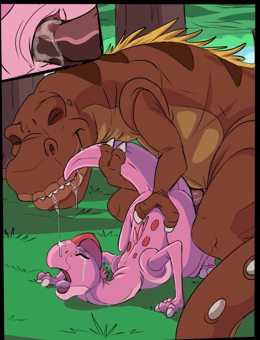 dinosaur pink time before land Parasyte the maxim